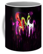 Abstract Fractals Melting 3 Coffee Mug