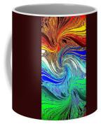 Abstract Fusion 159 Coffee Mug