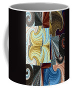 Abstract Fusion 45 Coffee Mug