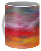 Abstract - Guash And Acrylic - Pleasant Dreams Coffee Mug
