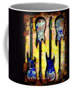 Abstract Guitars Coffee Mug
