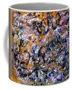 Abstract Interconnection Coffee Mug