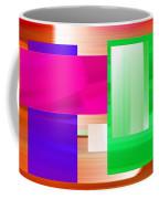 Abstract Number Three Coffee Mug