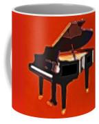 Abstract Piano Coffee Mug