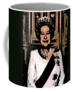Abstract Portrait Of A Queen Coffee Mug