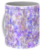 Abstract Purple Splatters Coffee Mug