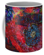 Abstract Red Poppy Coffee Mug