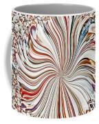 Abstract Seashells Coffee Mug
