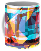 Abstract Sin 28 Coffee Mug