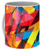 Abstract Sine L 14 Coffee Mug