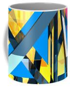 Abstract Sine L 18 Coffee Mug