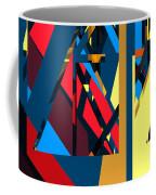 Abstract Sine L 19 Coffee Mug