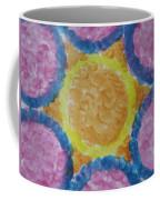Abstract Sun Coffee Mug