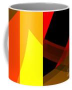 Abstract Tan 10 Coffee Mug