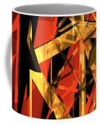 Abstract Tan 2 Coffee Mug