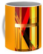 Abstract Tan 6 Coffee Mug