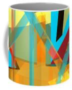 Abstract Tan 8 Coffee Mug