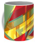 Abstract Tan 9 Coffee Mug