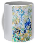 Abstract Under Water Coffee Mug