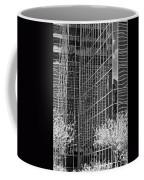 Abstract Walls Black And White Coffee Mug