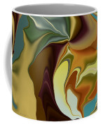 Abstract With Mood Coffee Mug by Deborah Benoit