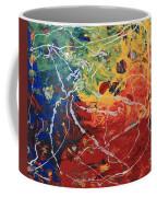Acrylic  Poured  And  Dripped  2001 Coffee Mug