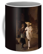 Actors Perform Pantomimes At Tivoli Coffee Mug by Sisse Brimberg