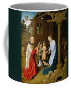 Adoration Of The Christ Child  Coffee Mug