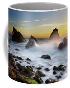 Adraga Beach Coffee Mug by Carlos Caetano