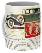 Ads: Buick, 1932 Coffee Mug
