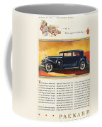 Ads: Packard, 1932 Coffee Mug