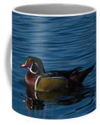 Adult Male Wood Duck Coffee Mug
