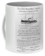 Advertisement: Steamship Coffee Mug