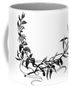 Advertising Art: Wreath Coffee Mug