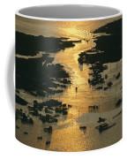 Aerial Shot, Tangier Island, Chesapeake Coffee Mug