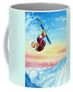 Aerial Skier 13 Coffee Mug