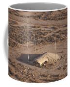 Aerial View Of A Destroyed Iraqi Coffee Mug