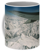Aerial View Of Himalaya From Plane En Coffee Mug