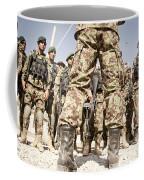 Afghan Air Force Members Get Briefed Coffee Mug
