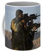 Afghan National Army Commandos Aim Coffee Mug
