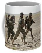 Afghan National Army Soldiers Run Coffee Mug