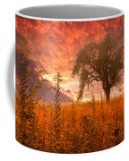 Aflame Coffee Mug by Debra and Dave Vanderlaan