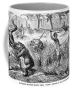 Africa: Ape Hunting Coffee Mug