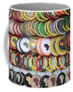 African Beaded Earrings Coffee Mug