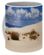 Afternoon At White Sands National Monument Coffee Mug