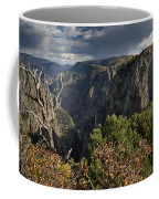 Afternoon Clouds Over Black Canyon Of The Gunnison Coffee Mug