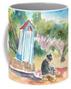 Afternoon On A Cretan Beach Coffee Mug