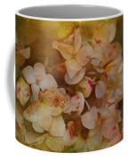Aged Hydrangeas With Texture Coffee Mug