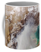 Air Pollution Over China Coffee Mug