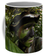 Airman Conceals Himself By Blending Coffee Mug by Stocktrek Images